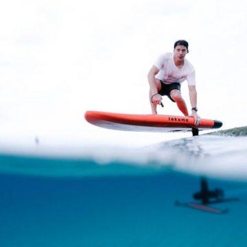 Takuma electric foil surfboard