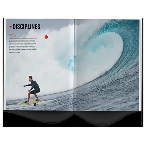 foil surfing disciplines